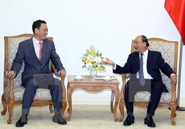 Dispuesto gobierno de Vietnam a escuchar a inversores sudcoreanos, asevera Premier hinh anh 1