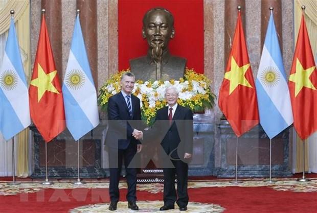 Acuerdan Vietnam y Argentina diversificar intercambio comercial en beneficio mutuo hinh anh 1