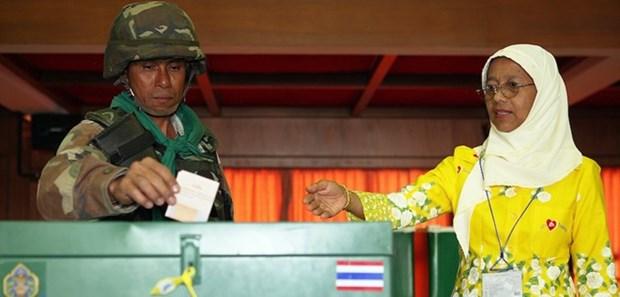 Se registran 1,5 millones de tailandeses para votacion anticipada en proximos comicios generales hinh anh 1