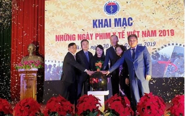Celebran en Vietnam Dias de peliculas medicas hinh anh 1