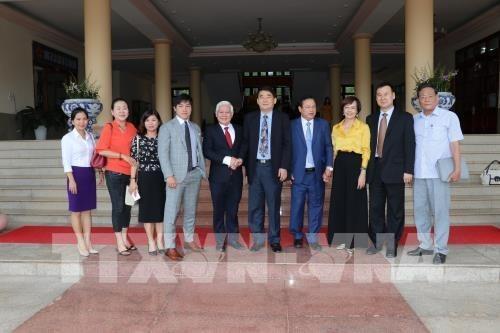 Visitan empresarios chinos y sudcoreanos provincia vietnamita de Binh Phuoc hinh anh 1