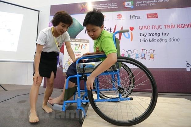 Lanzan en Vietnam proyecto dedicado a promover el empoderamiento de personas con discapacidad hinh anh 1