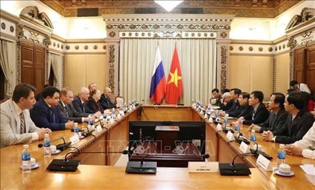 Intercambian Ciudad Ho Chi Minh y Rusia experiencias en la lucha contra corrupcion hinh anh 1