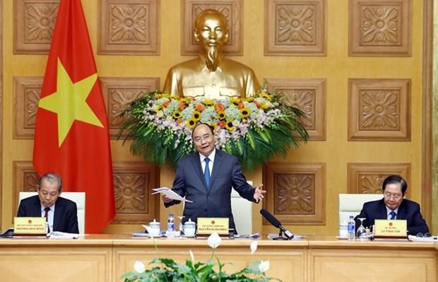 Premier vietnamita ordena simplificacion de los procedimientos administrativos hinh anh 1