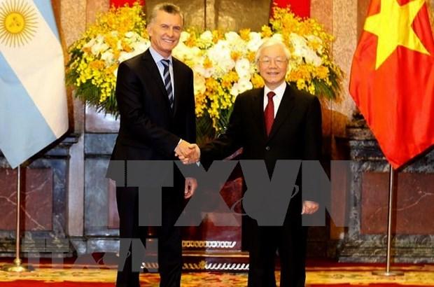 Vietnam y Argentina miran hacia el establecimiento de asociacion estrategica hinh anh 1