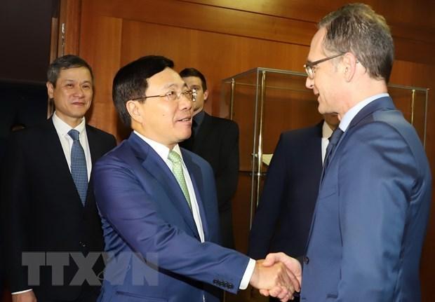 Vietnam y Alemania intensifican cooperacion en diversos sectores hinh anh 1