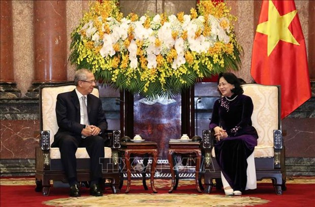 Recibe vicepresidenta vietnamita a delegacion del Tribunal Supremo de Tailandia hinh anh 1