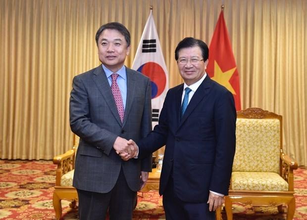 Posee Vietnam grandes potencialidades para Huyndai, afirma vicepremier hinh anh 1