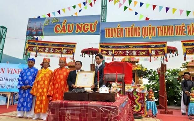 Reconocen como patrimonio nacional el festival de culto a las ballenas hinh anh 1