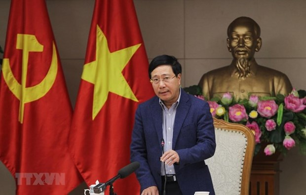 Preside viceprimer ministro vietnamita reunion preparatoria para la Cumbre EE.UU.- RPDC hinh anh 1