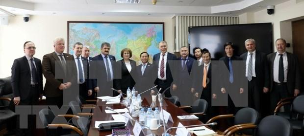 Destacan diputados rusos alcance de la asociacion estrategica integral con Vietnam hinh anh 1