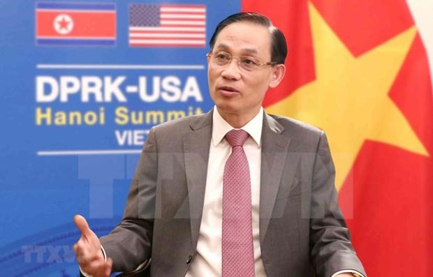 Avanzan en Vietnam preparativos para proxima Cumbre EE.UU.-RPDC hinh anh 1