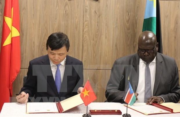Destacan Vietnam y Sudan del Sur significado del establecimiento de relaciones diplomaticas hinh anh 1