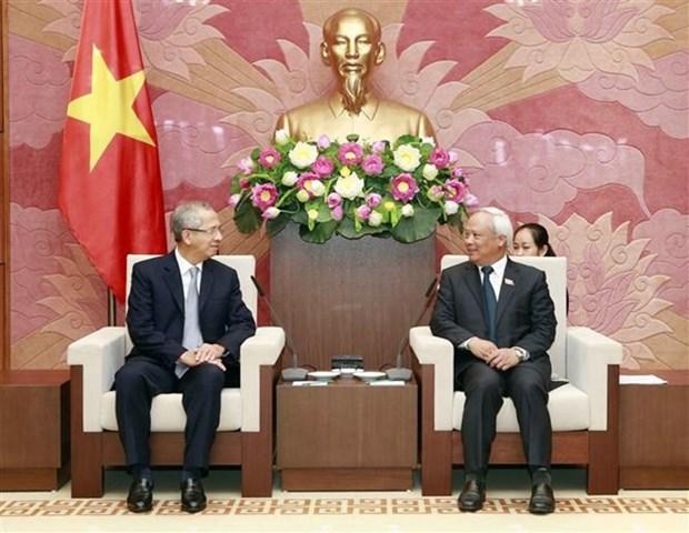 Vicepresidente del Parlamento vietnamita aboga por mayor cooperacion judicial con Tailandia hinh anh 1