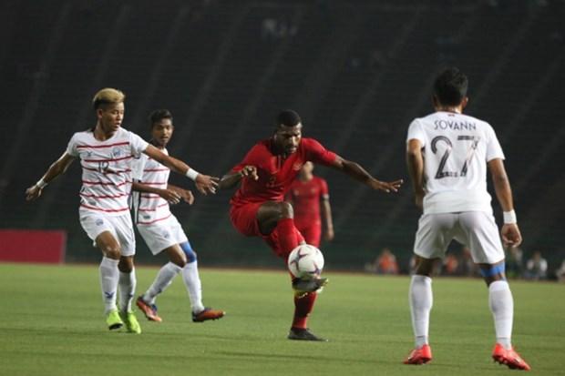 Vietnam se medira a Indonesia en semifinales del Campeonato regional de futbol sub 22 hinh anh 1