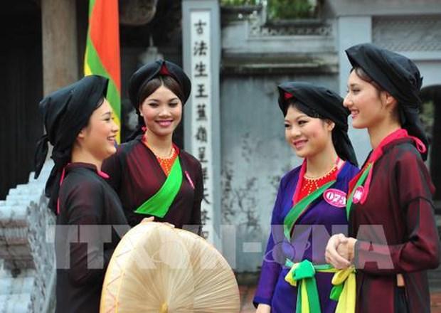 En Vietnam conmemoran los 10 anos del reconocimiento del Quan Ho como Patrimonio de la Humanidad hinh anh 1