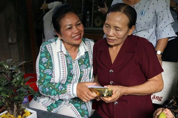 Intensa agenda en Vietnam de delegacion de la Union de Mujeres de Camboya para la Paz y el Desarrollo hinh anh 1