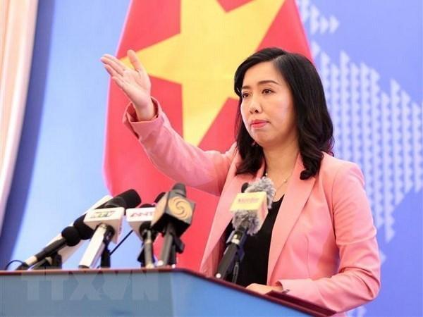 Vietnam desea mostrar su hospitalidad, expresa vocera de la cancilleria hinh anh 1