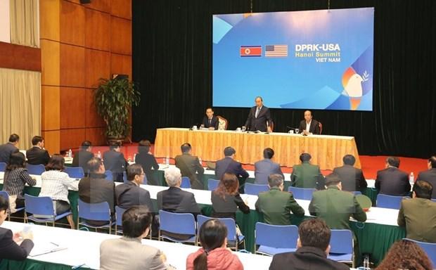 Insta premier Nguyen Xuan Phuc a garantizar maxima seguridad para segunda Cumbre EE.UU.-RPDC hinh anh 1