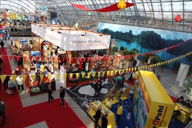 Participan empresas vietnamitas en Feria de Leipzig en Alemania hinh anh 1