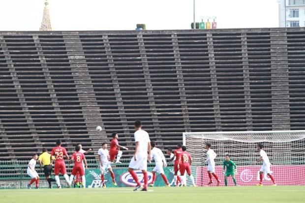 El sueno de seleccion vietnamita termina en semifinales del Campeonato regional de futbol sub 22 hinh anh 1