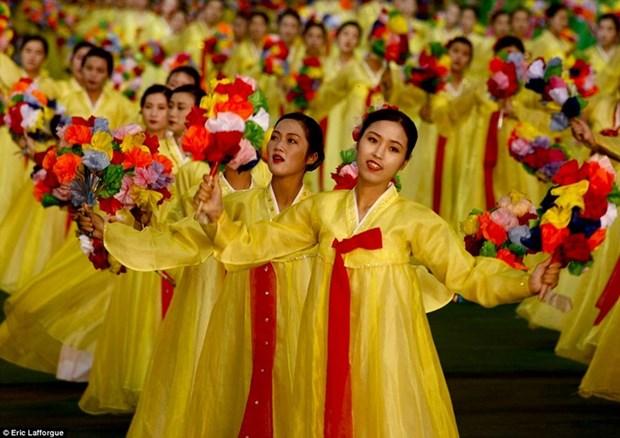 Promocionan en Vietnam turismo a la RPDC en ocasion de visita a Hanoi del presidente norcoreano hinh anh 1