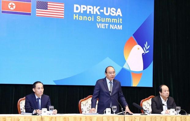 Supervisa primer ministro de Vietnam preparativos para proxima Cumbre EE.UU.- RPDC hinh anh 1