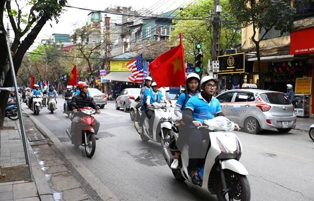 """Promoveran la imagen de Hanoi como """"ciudad de paz"""" en Cumbre EE.UU.- RPDC hinh anh 1"""