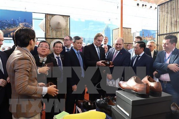 Destacan funcionarios alemanes participacion de Vietnam en Feria de Leipzig hinh anh 2
