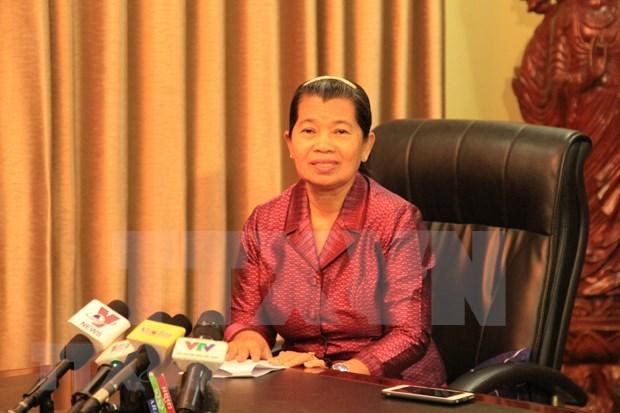 Consideran relaciones tradicionales con Vietnam como base del avance de Camboya hinh anh 1