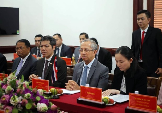 Intercambian Vietnam y Tailandia experiencias en procesos penales contra el narcotrafico. hinh anh 1