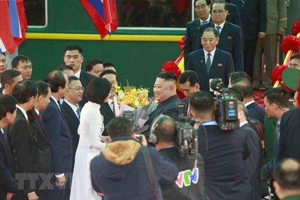 Visita del presidente norcoreano a Vietnam acapara la atencion internacional hinh anh 1