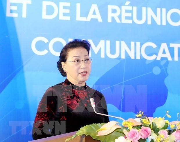 Destaca maxima legisladora vietnamita papel de la Alianza Francofona en la arena internacional hinh anh 1