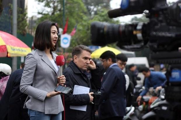 Ofrece Vietnam variadas experiencias culturales a reporteros que cubren segunda cumbre EE.UU.-RPDC hinh anh 1