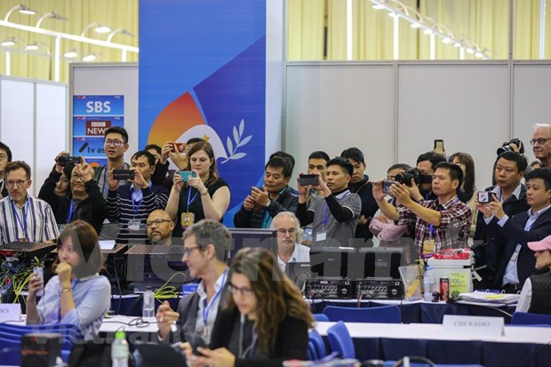 Prensa internacional sigue de cerca a la Cumbre EE.UU.-Corea del Norte hinh anh 1