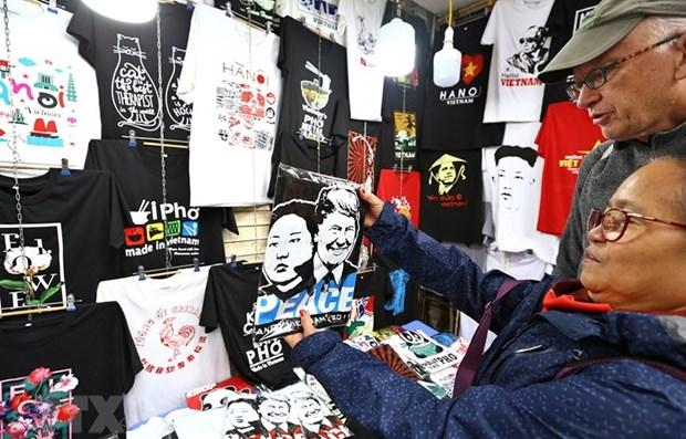 Destaca prensa india aumento de ventas en tiendas en Hanoi en ocasion de Cumbre EE.UU.- RPDC hinh anh 1