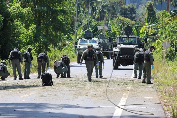 Causa un muerto y dos heridos atentado con bombas en el sur de Tailandia hinh anh 1
