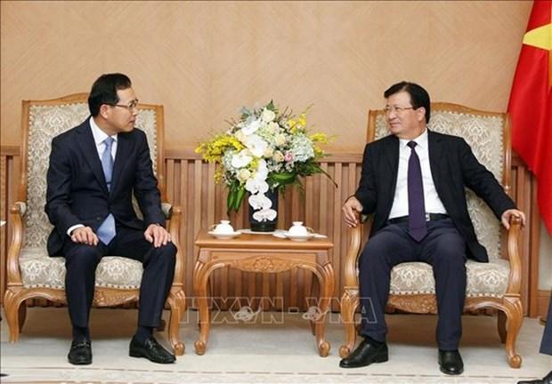 Aprecia Vietnam aumento de las inversiones de Corea del Sur hinh anh 1
