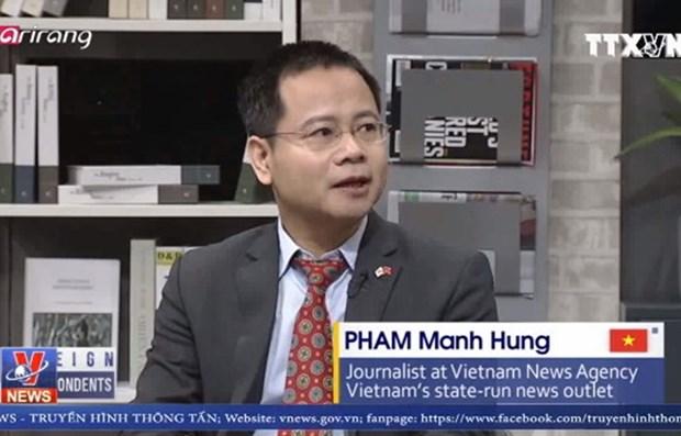 Destacan entusiasmo de vietnamitas por el desarrollo en Hanoi de la segunda Cumbre EE.UU.-RPDC hinh anh 1