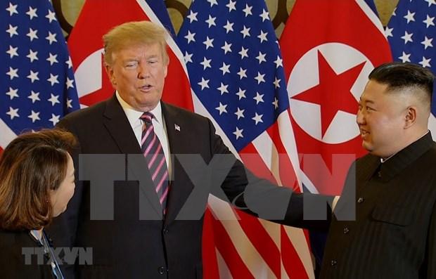 Donald Trump ofrecera conferencia de prensa despues de su cumbre con Kim Jong-un hinh anh 1