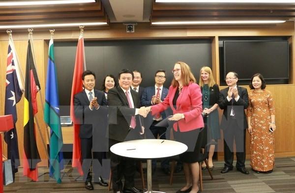 Cooperan Vietnam y Australia para promover la educacion en derechos humanos hinh anh 1