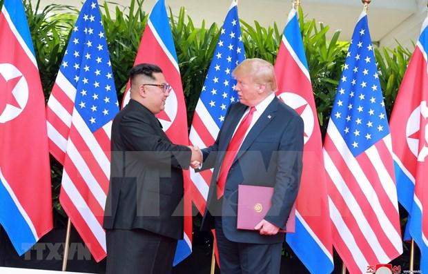 Cumbre EE.UU.-RPDC en Hanoi concentra atencion de la prensa internacional hinh anh 1