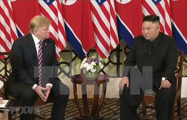 EE.UU. y Corea del Norte firmaran acuerdo conjunto al cierre de su segunda cumbre hinh anh 1