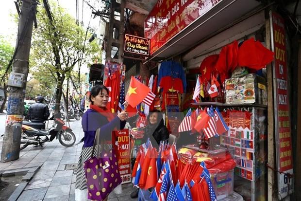 Destaca prensa india aumento de ventas en tiendas en Hanoi en ocasion de Cumbre EE.UU.- RPDC hinh anh 2