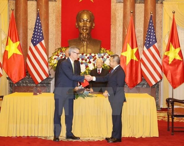 Firman acuerdos multimillonarios aerolineas vietnamitas y companias estadounidenses hinh anh 3