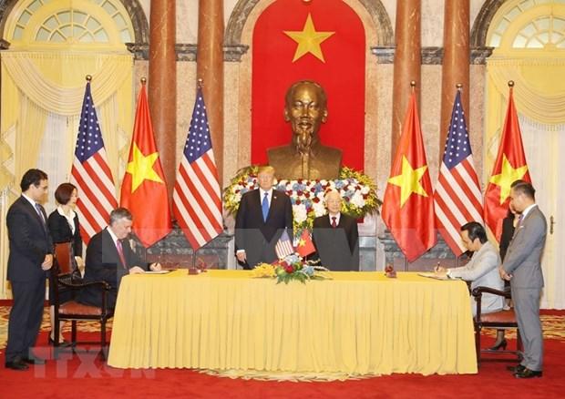 Firman acuerdos multimillonarios aerolineas vietnamitas y companias estadounidenses hinh anh 2