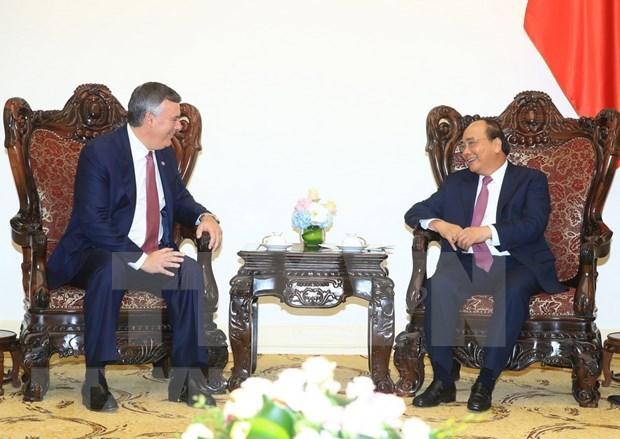 Premier vietnamita recibe a ejecutivos de Boeing y HSBC hinh anh 1