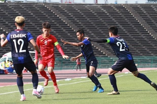 Vietnam gana tercer puesto en el campeonato regional de futbol sub 22 hinh anh 1