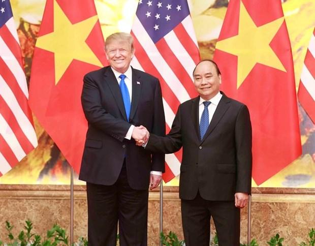 Vietnam otorga importancia al fomento de asociacion integral con EE.UU., afirma premier hinh anh 1