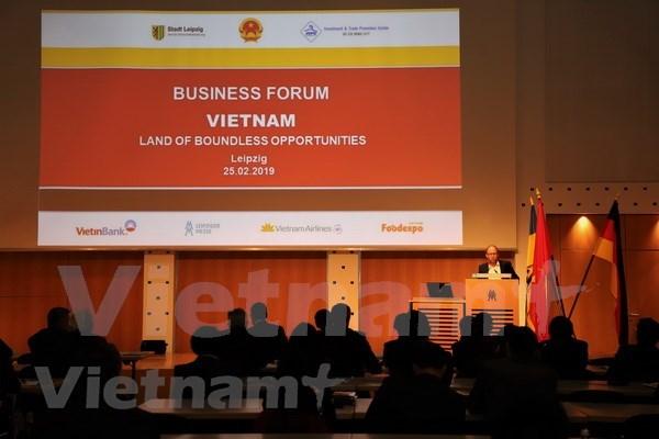 Resaltan potencialidades de cooperacion entre Vietnam y Alemania hinh anh 1